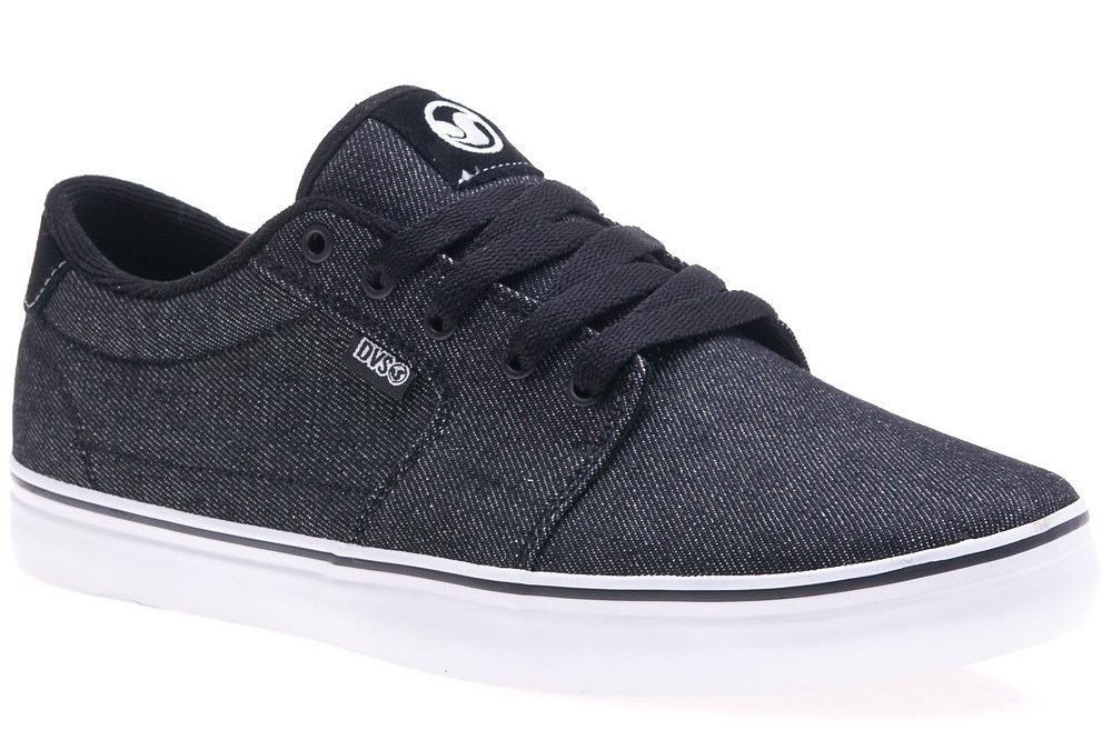 Dvs Convict 13 (black acid wash twill)
