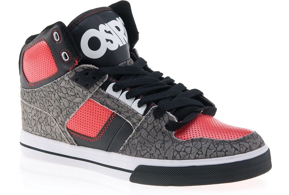 Osiris NYC 83 v 13 (gry/red/blk)