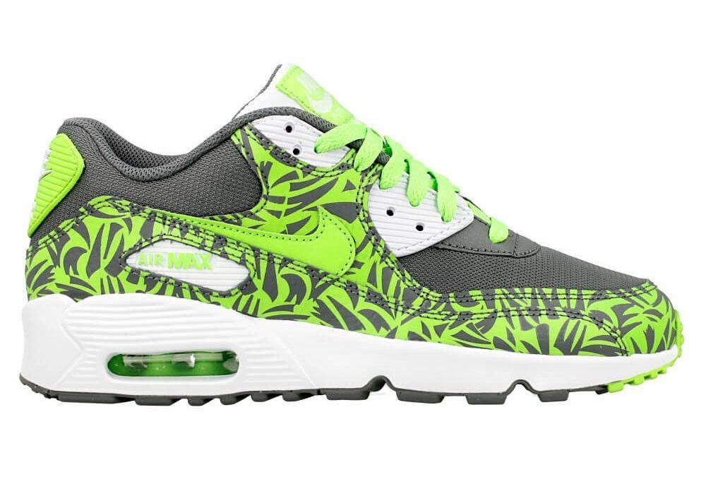 Nike Air Max 90 Print Mesh Gs 833486-003