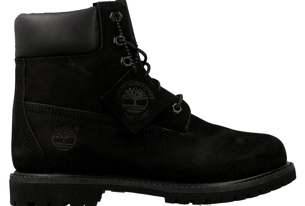 Timberland Womens Af 6 Prem Black 8658A