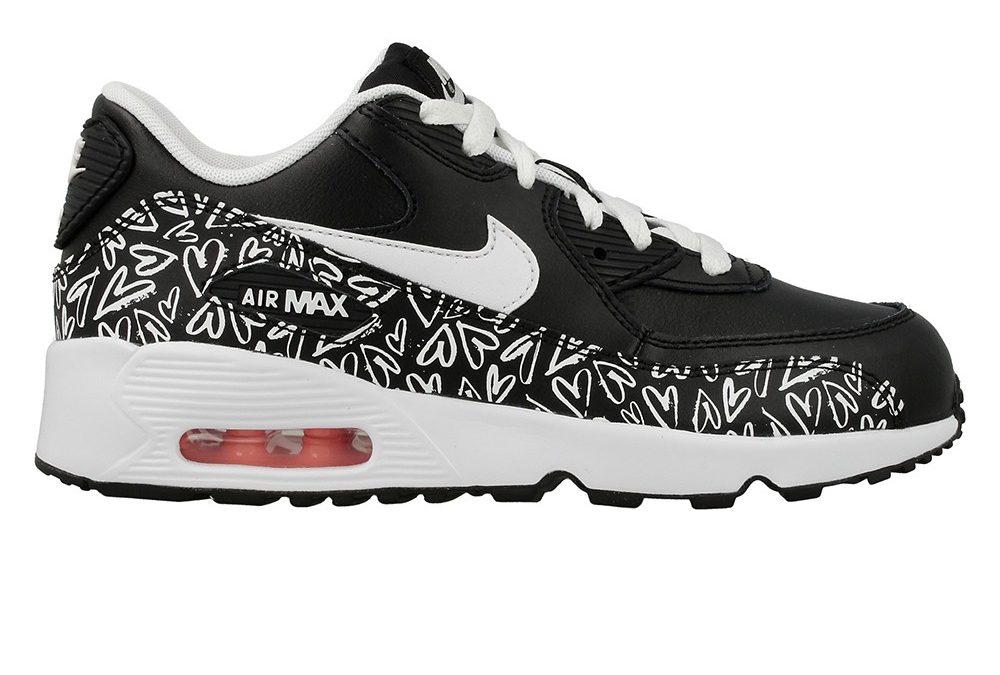 Nike Air Max 90 Print Ltr Ps 844617 001 Oryginalne Buty
