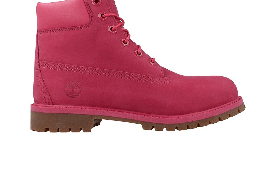 Timberland 6 In Premium WP Boot Rose Red A1ODE
