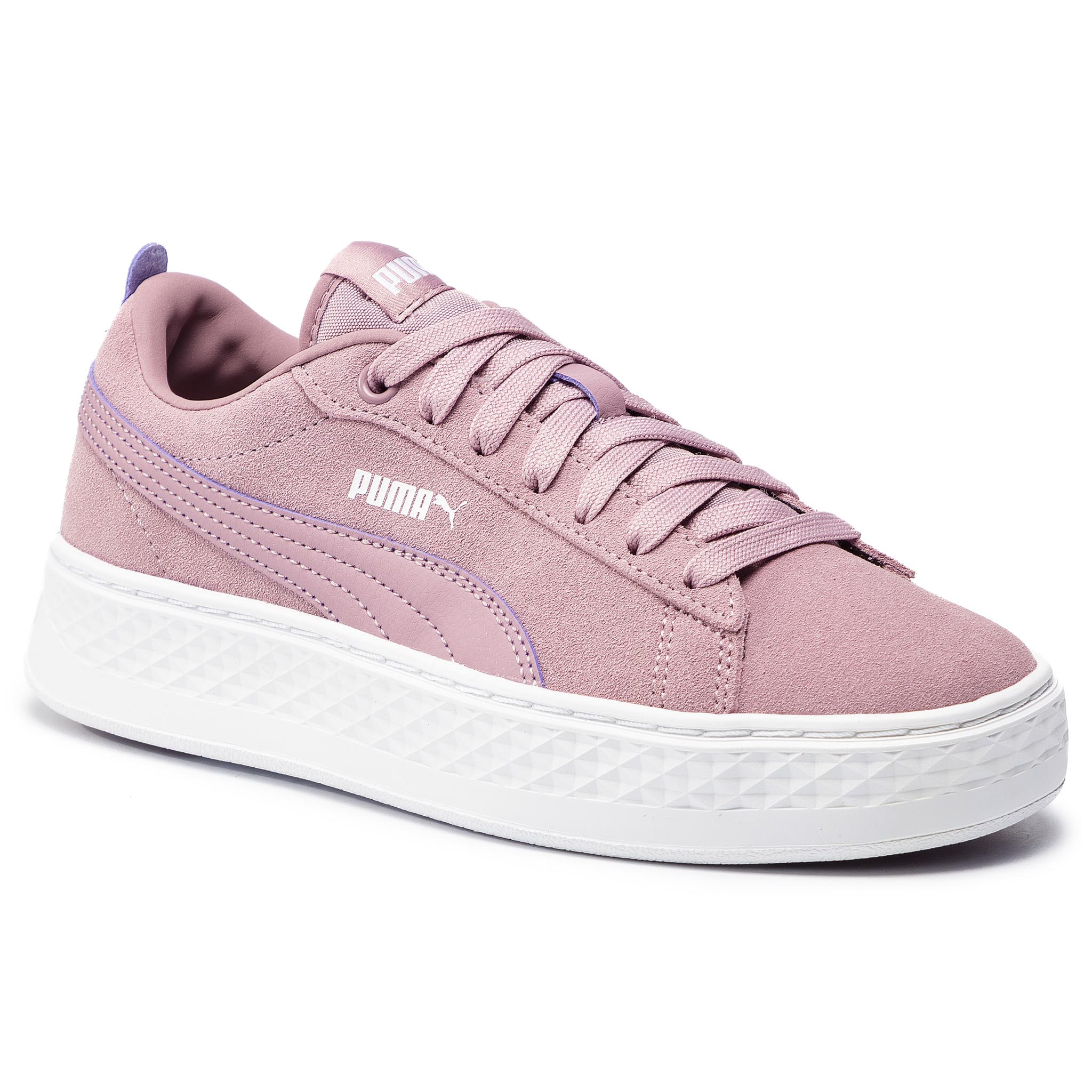 Sneakersy PUMA – Smash Platform Sd 366488 09  Elderberry/Puma White