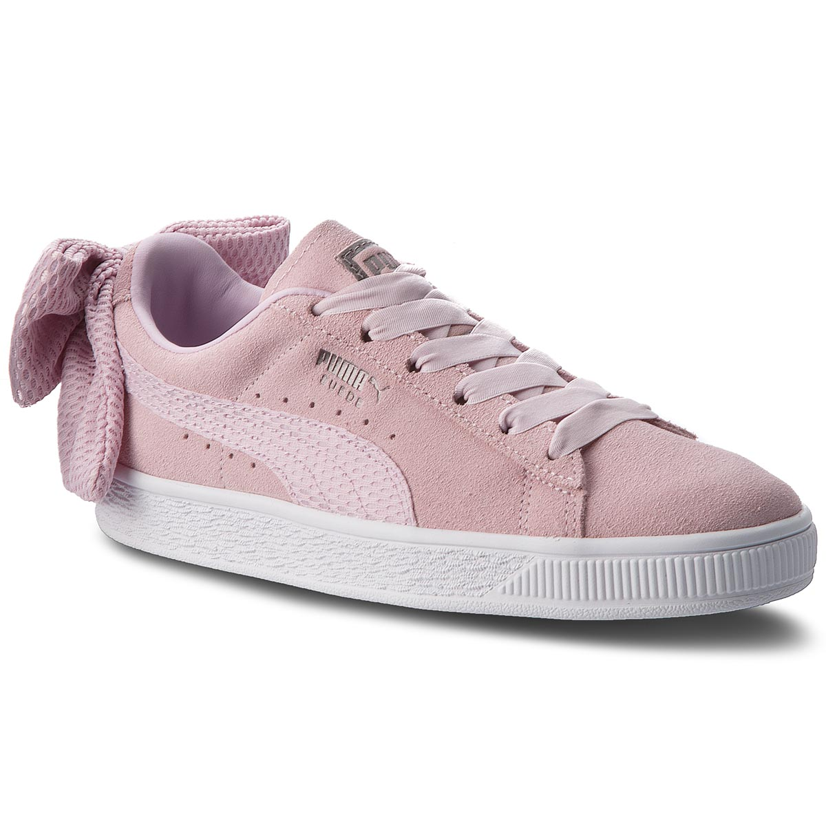 Sneakersy PUMA – Suede Bow Uprising Wn's 367455 03 Winsome Orchid/Puma White