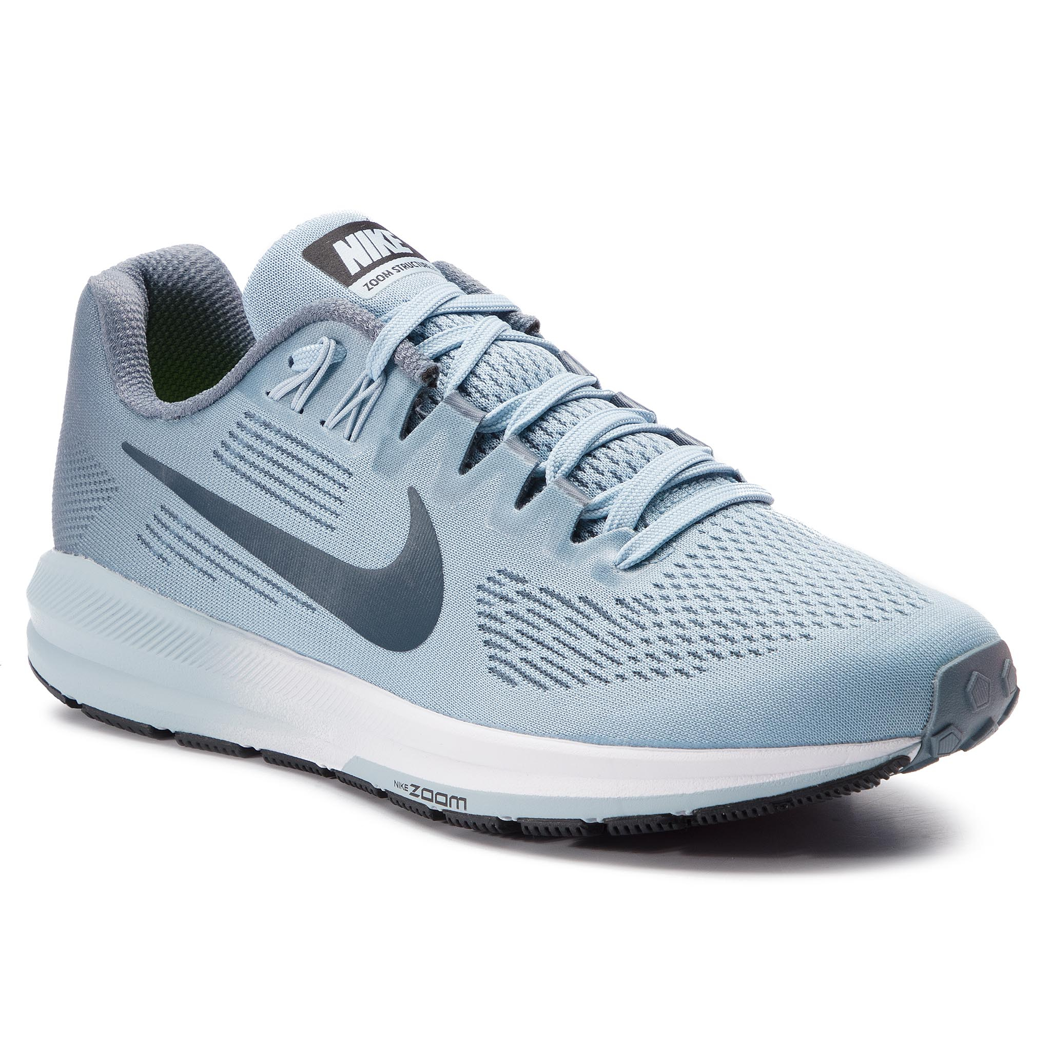 Buty NIKE – Air Zoom Structure 21 904701 400 Armory Niebieskie/Armory Navy