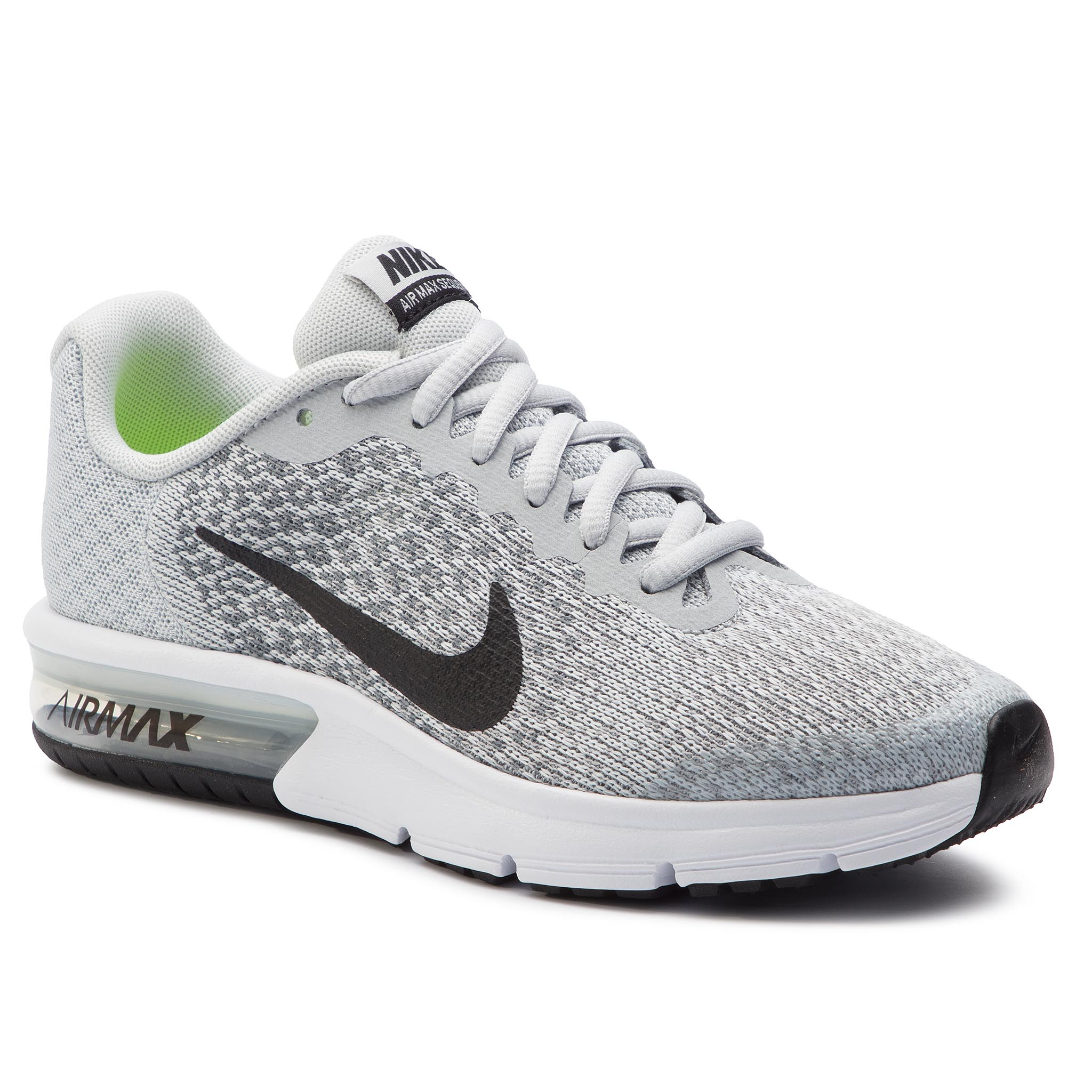 Buty NIKE Air Max Seqent 2 (GS) 869993 006 Pure Platinum