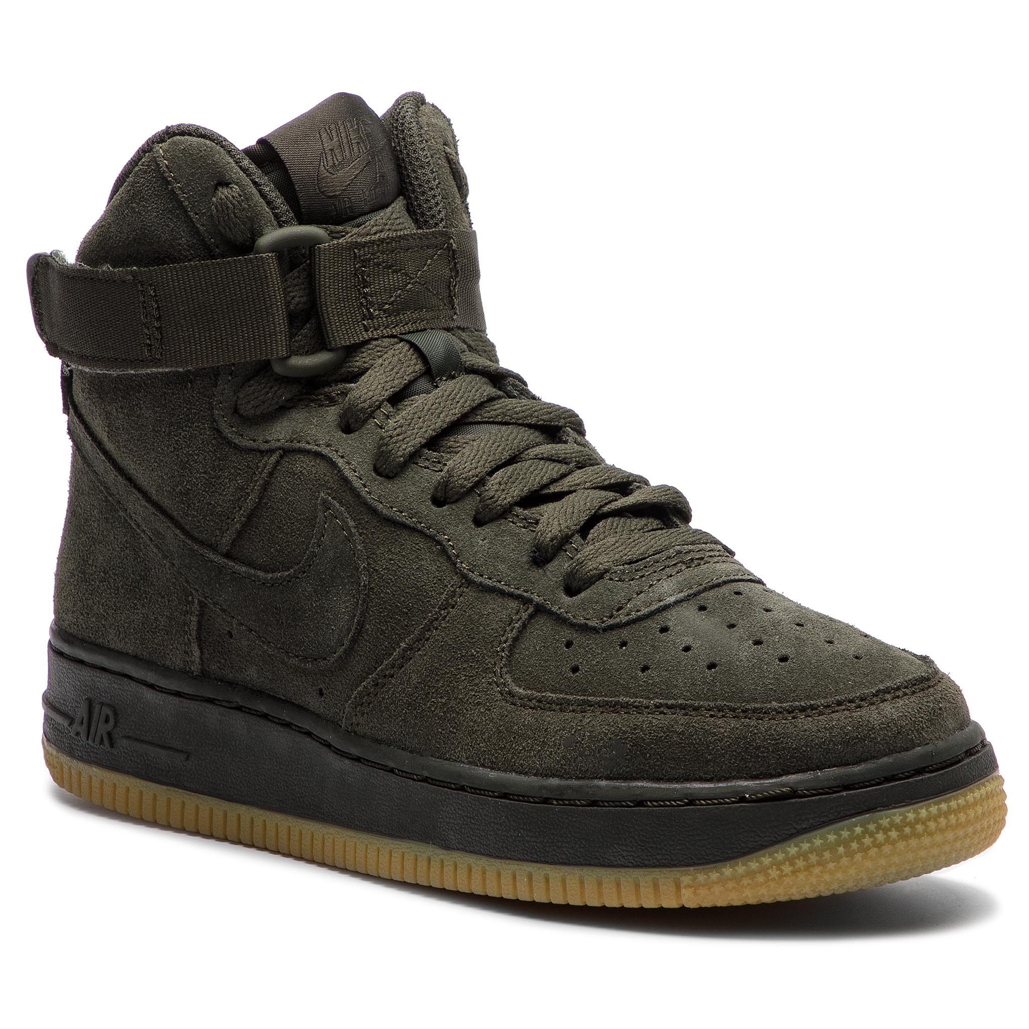 Buty NIKE – Air Force 1 High Lv8 (GS) 807617 300 Sequoia/Sequoia