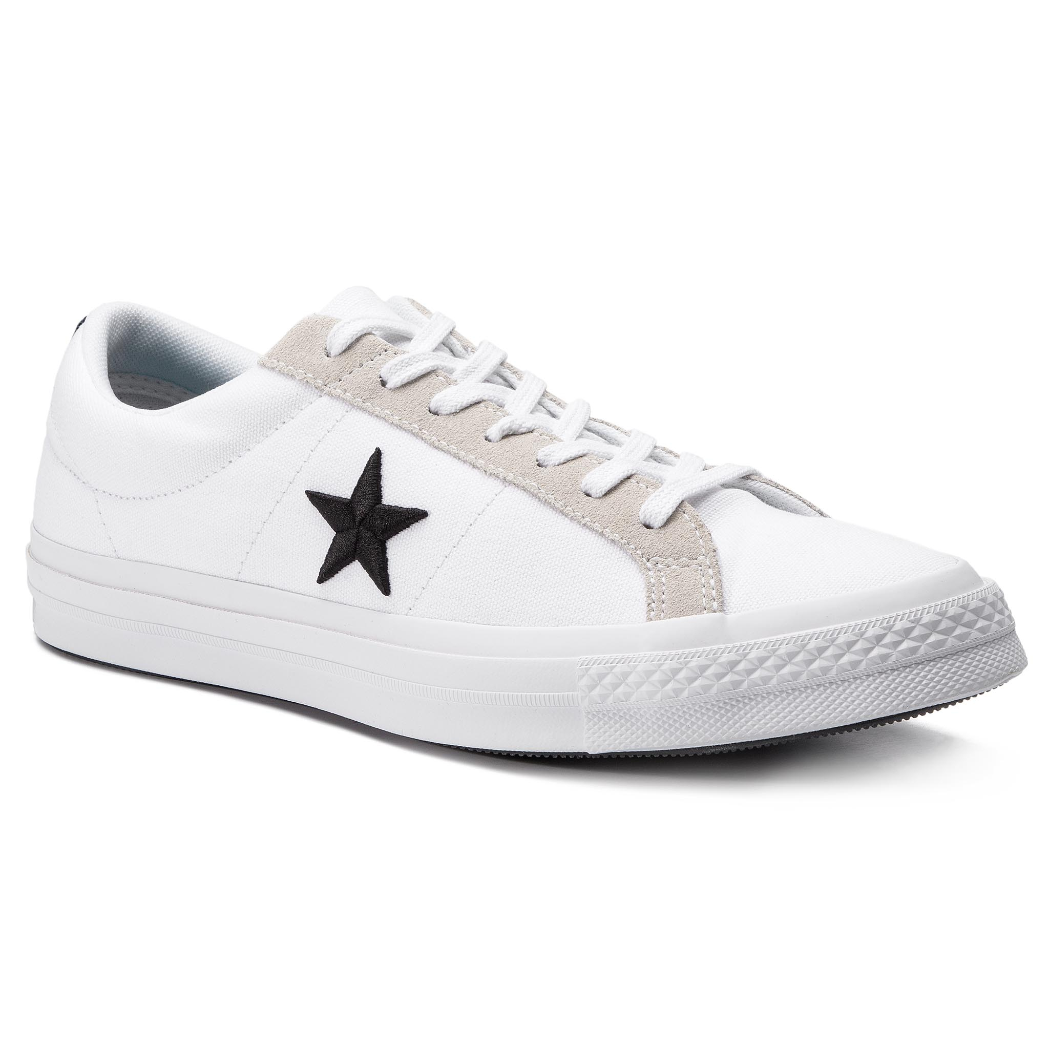 Tenisówki CONVERSE – One Star Ox 160601C White/Black/Black
