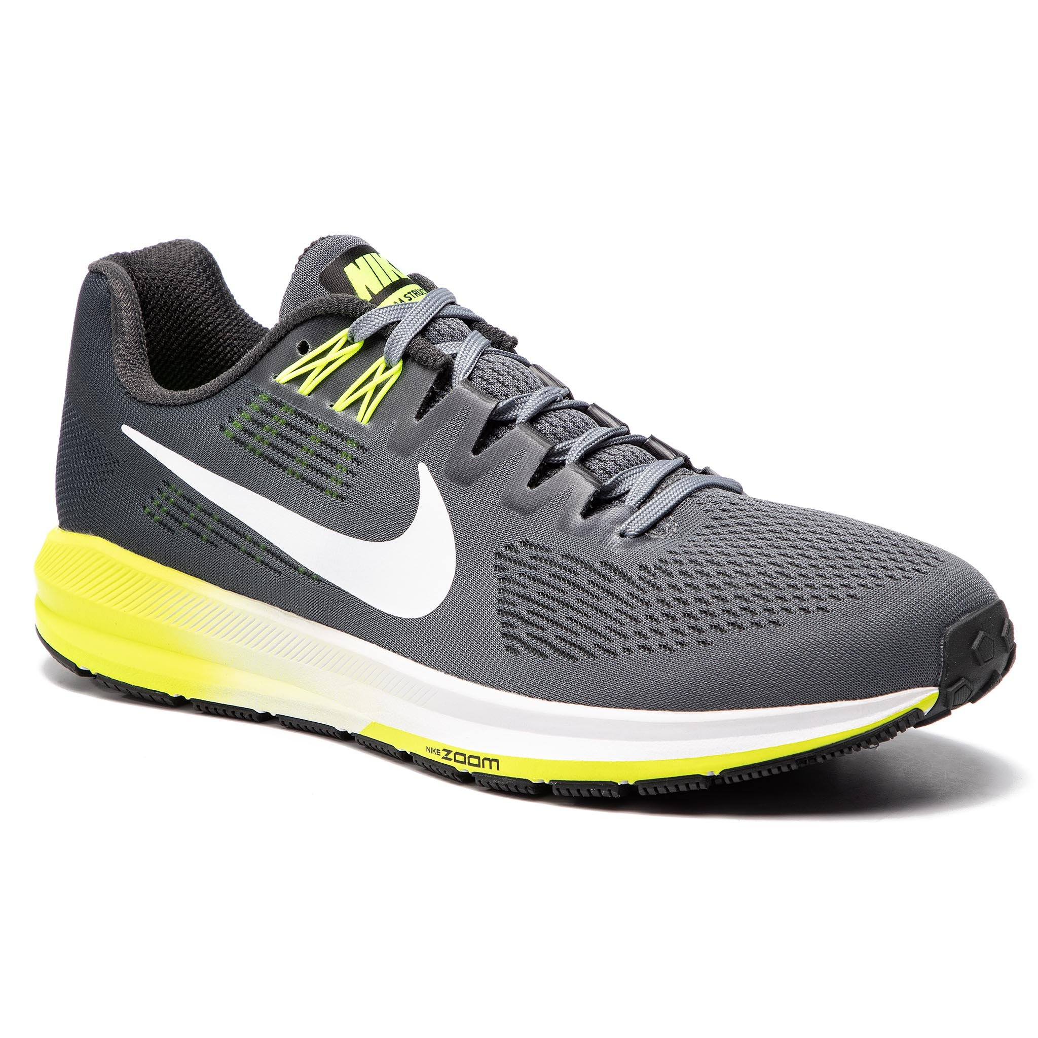 Buty NIKE – Air Zoom Structure 21 904695 007 Cool Szare/ Białe/Anthracite