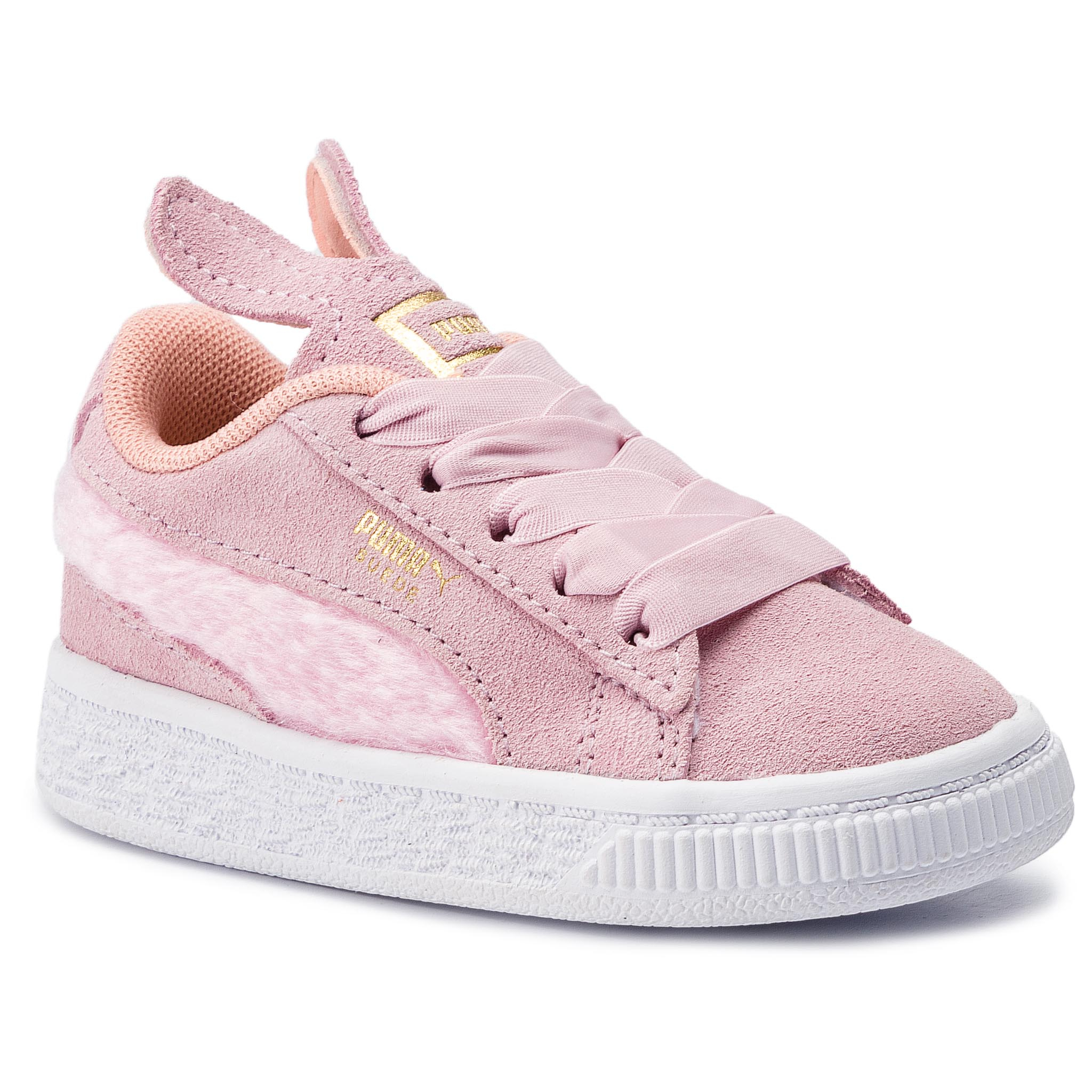 Sneakersy PUMA – Suede Easter Ac Inf 368946 02 Pale Pink/Coral Cloud