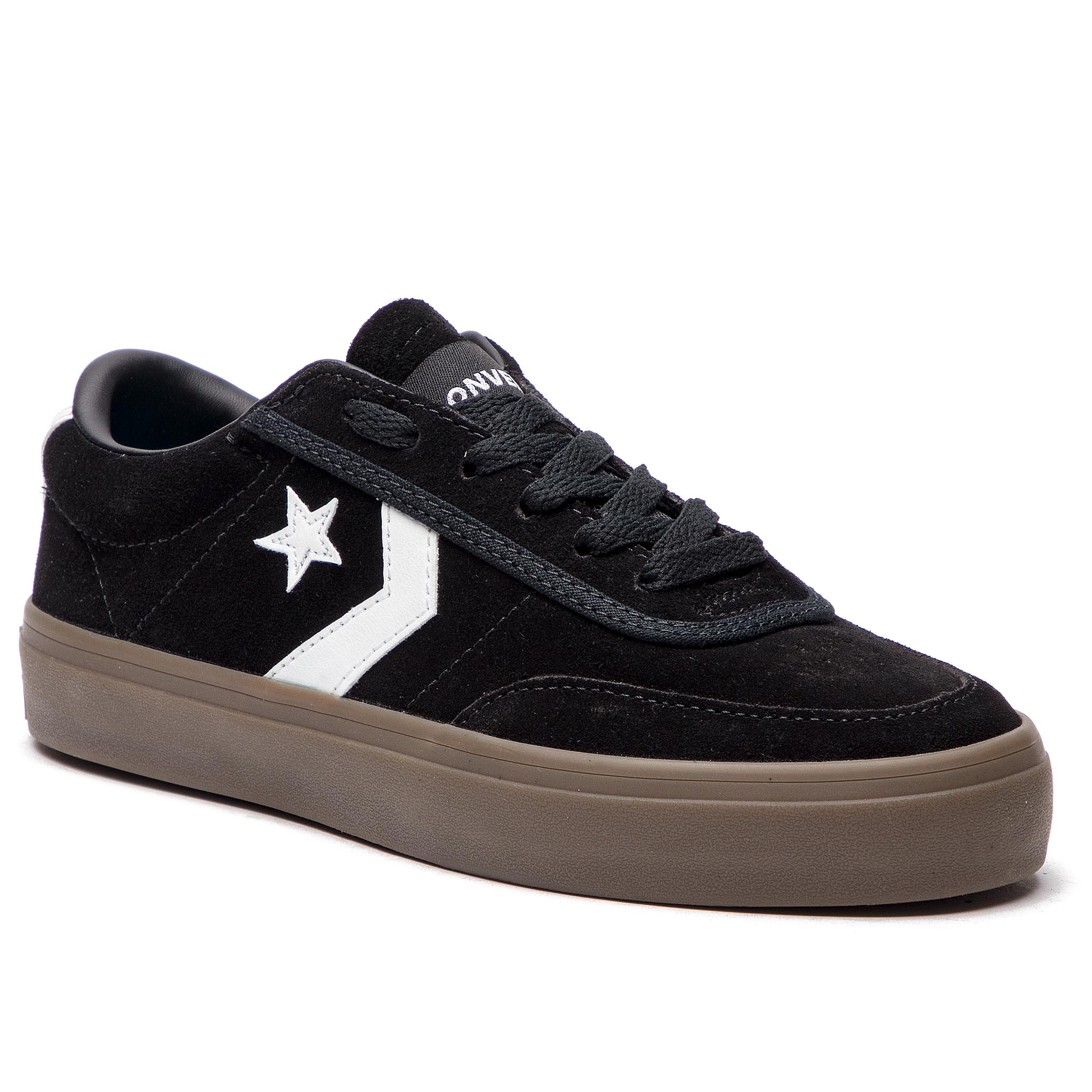 Sneakersy CONVERSE – Courtland Ox 162570C Black/White/Brown