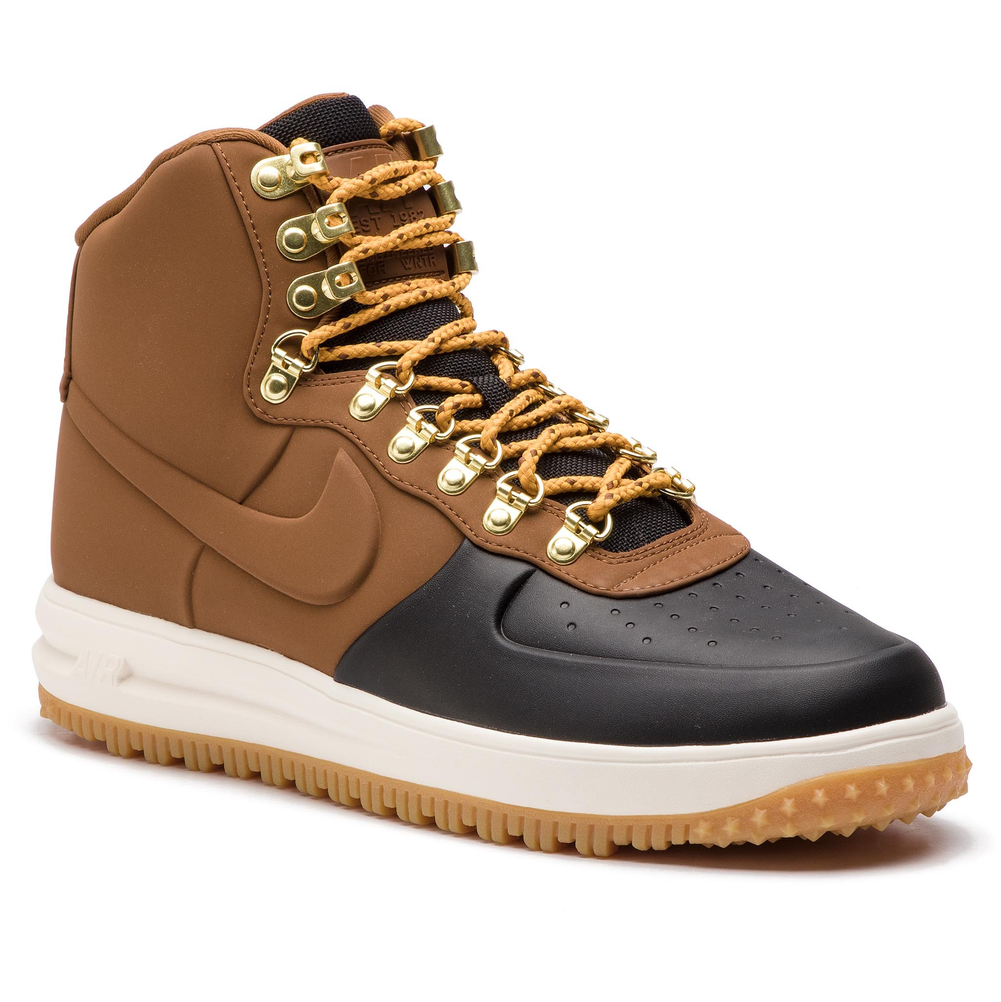 Buty NIKE – Lunar Force 1 Duckboot '18 BQ7930 001 Czarne/Lt British Tan/Phantom