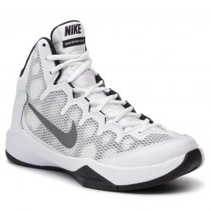 release date: 24f24 45d31 Buty NIKE – Zoom Without A Doubt 749432 100 Białe/Rflct Srebrne/Blk/Cl Gry