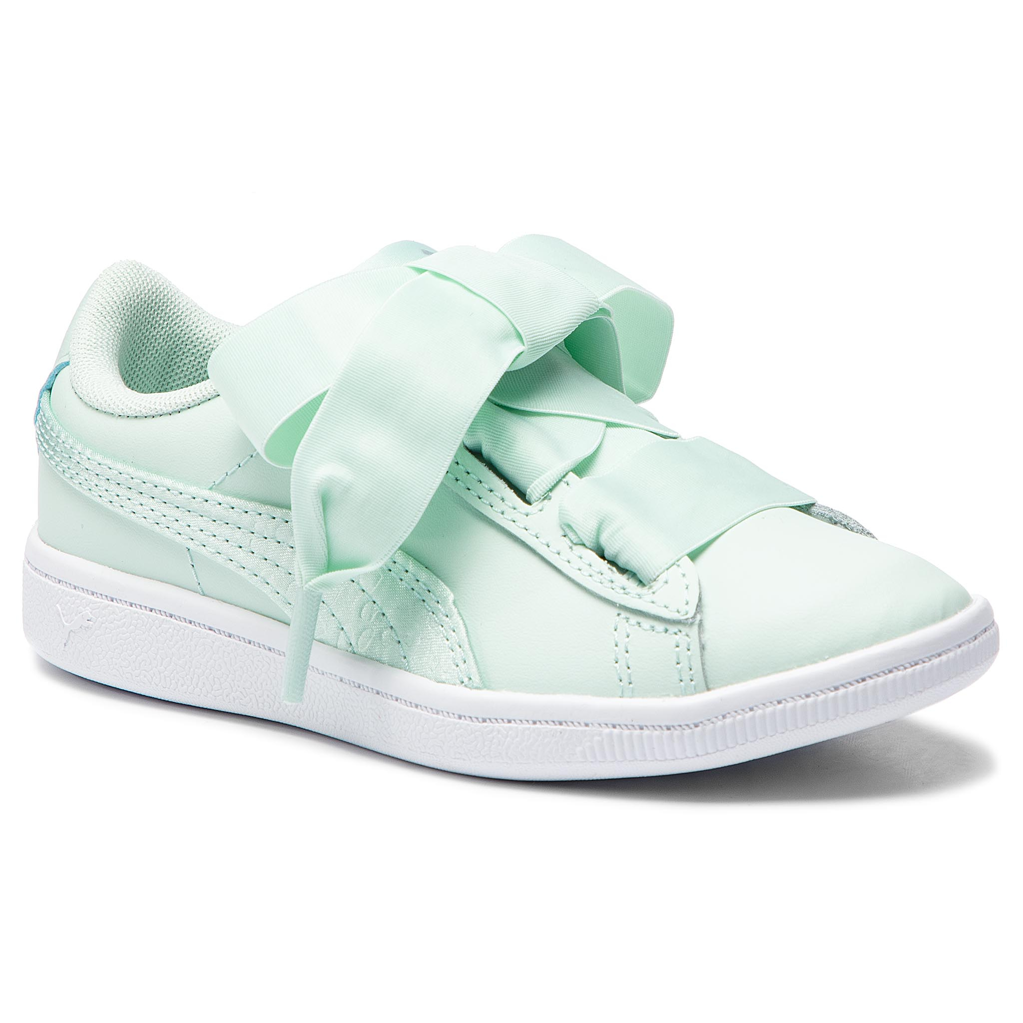 Sneakersy PUMA – Vikky Ribbon L Satin Ps 369543 01 Fair Aqua/Fair Aqua