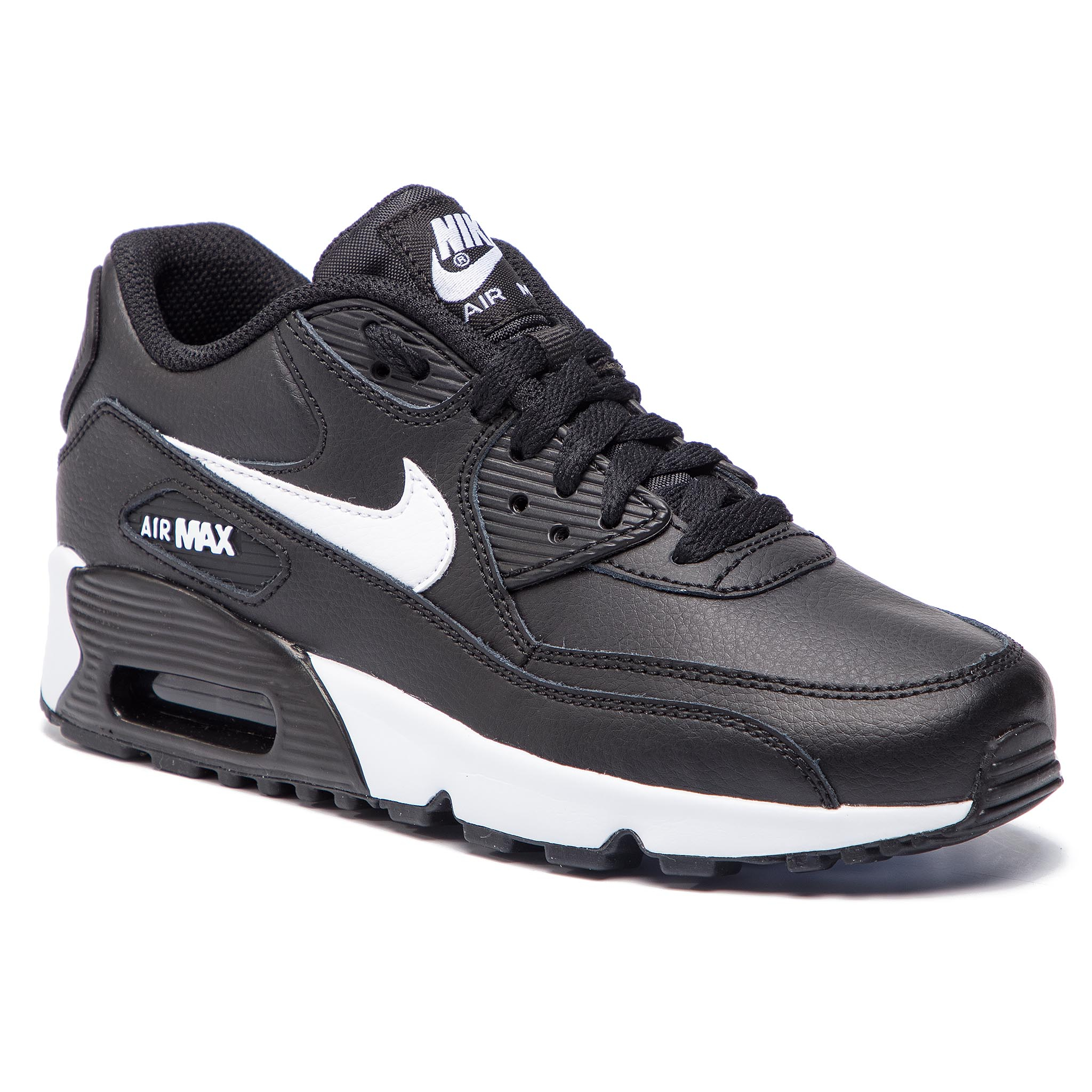 Buty NIKE – Air Max 90 Ltr 90 (GS) 833412 025 Czarne/Whit/Antracite